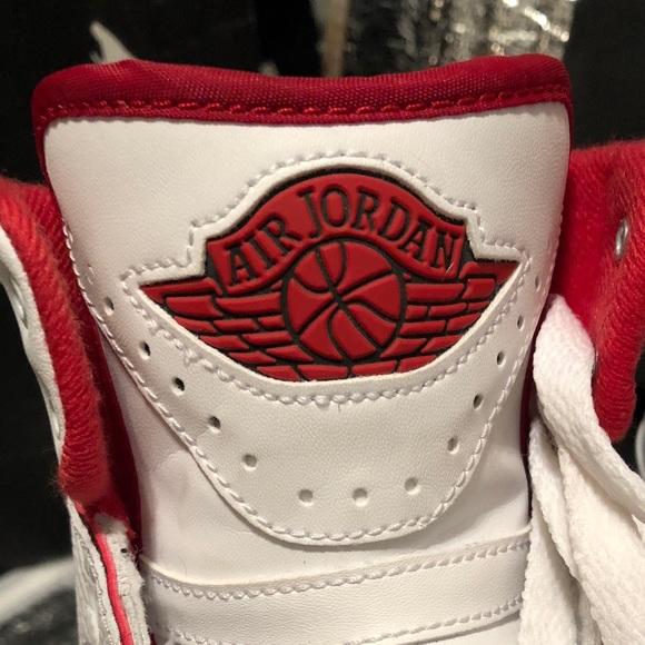 90fa7cff60b186 Jordan Other - Air Jordan 2 Retro BG White Black Varsity Red